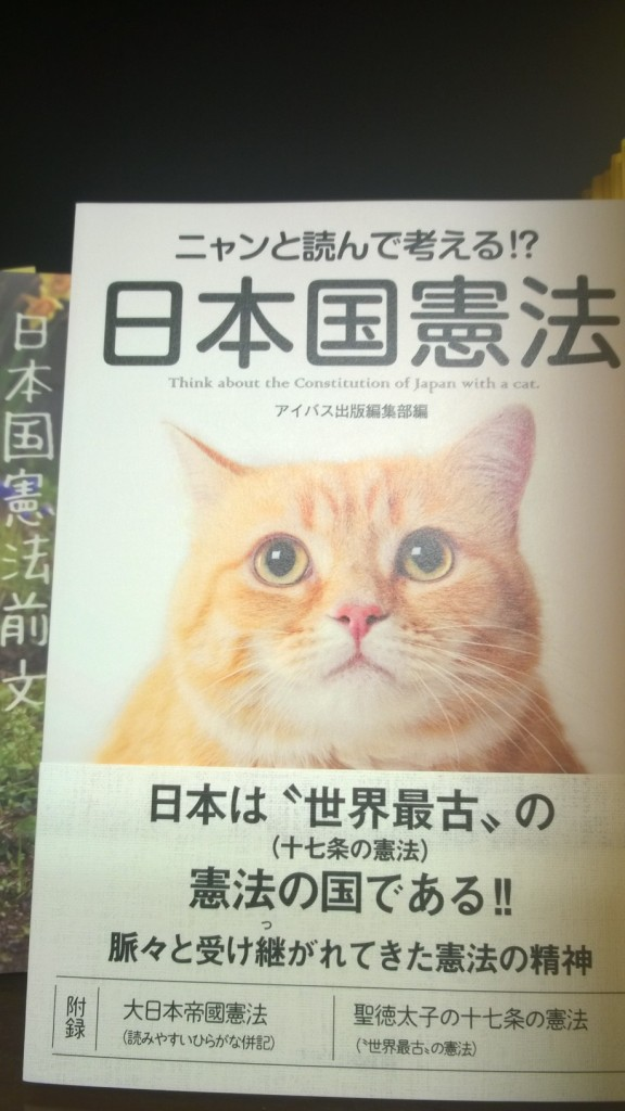 Japanes constitution with cats ...
