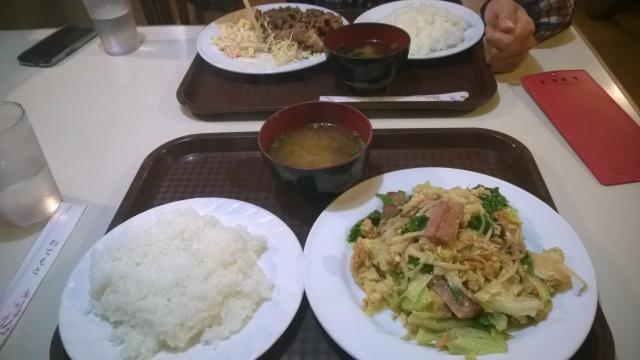 Siste måltid i Japan for denne gang